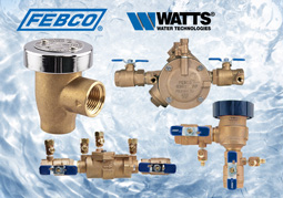We use the best Backflow Prevention equipment