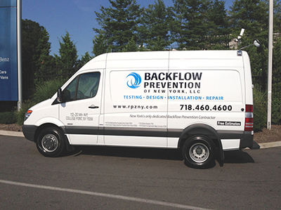 Watch for our vans around New York City